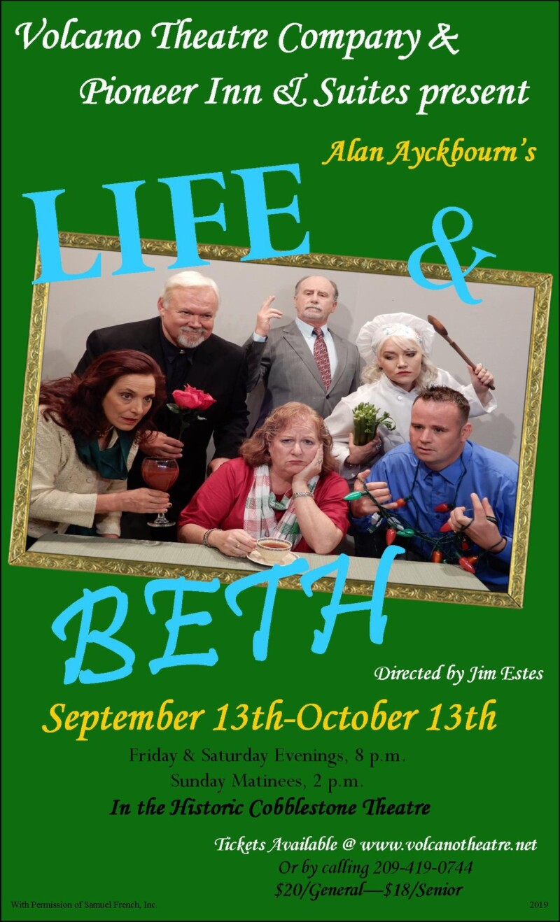 life & beth theatre production poster